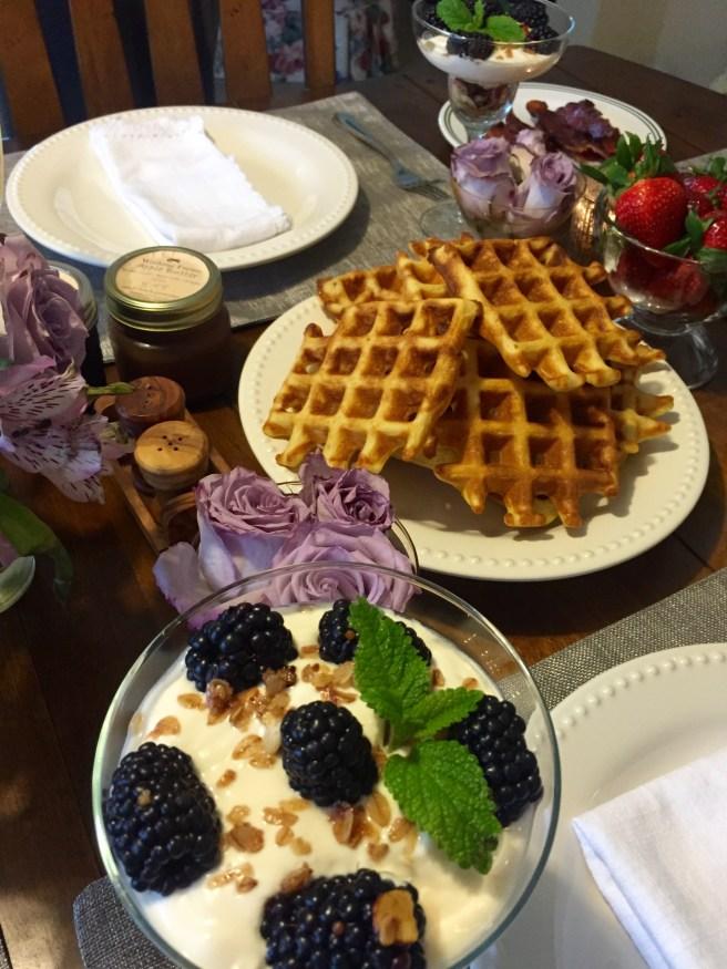 Greek Gods Yogurt Parfait   The Rose Table