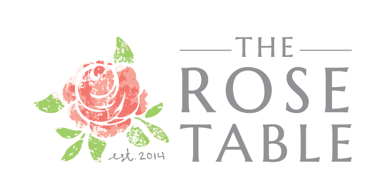 The Rose Table Logo | Food, Travel, Garden