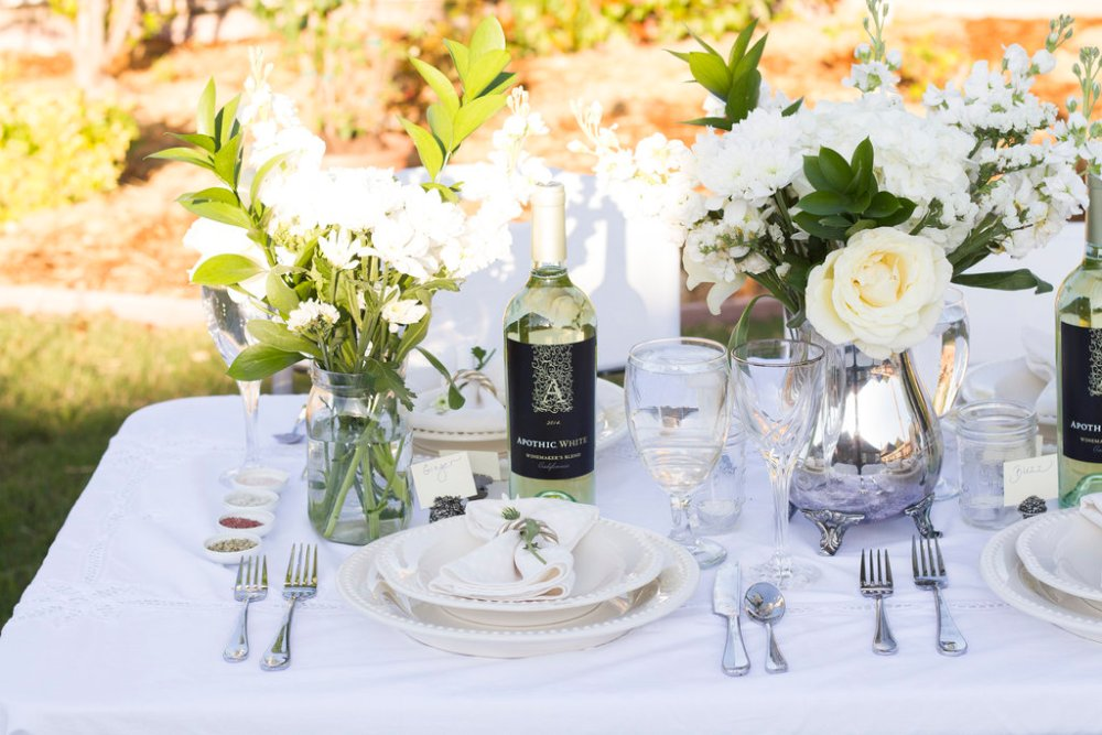 Diner en Blanc Table Ideas | The Rose Table