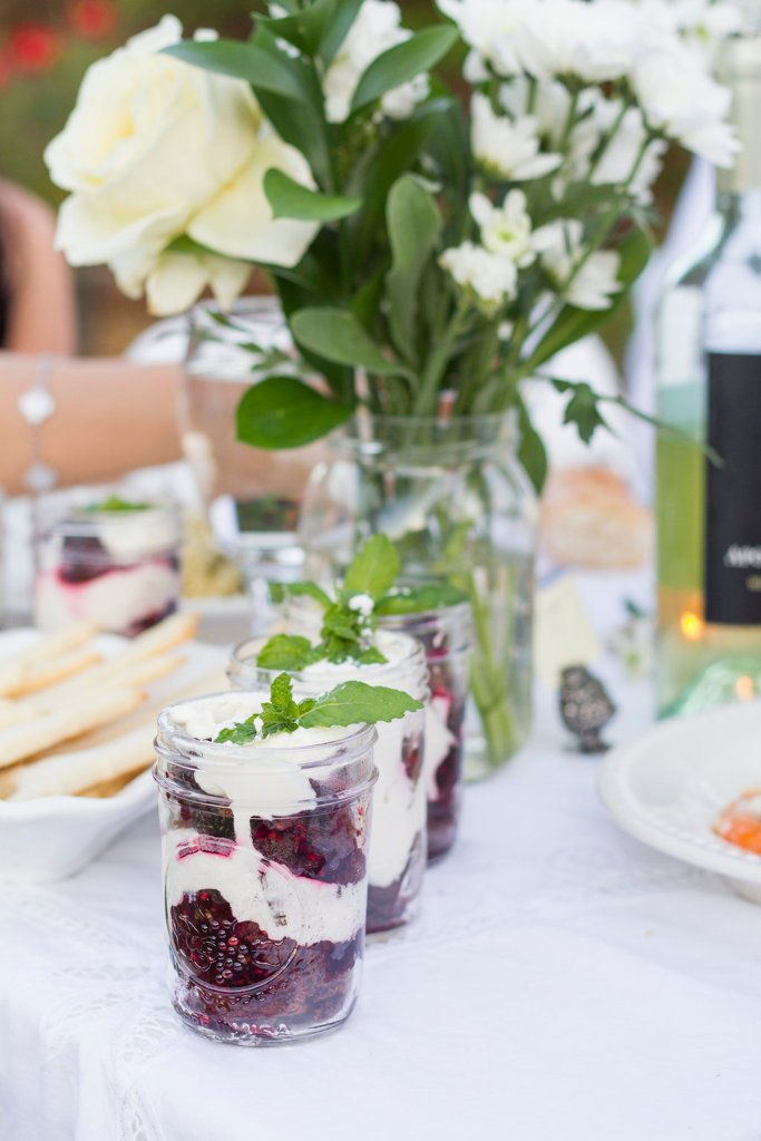 Blackberry Brownie Trifle | The Rose Table