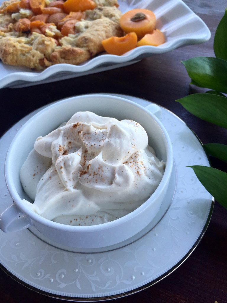 Bourbon Whipped Cream | The Rose Table