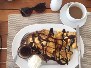 IMG_7023Banana Brioche French Toast at Fire and Ice at Blue Haven Resort in Turks and Caicos | The Rose Table