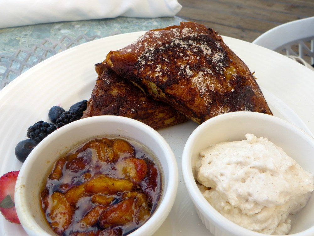 French Toast at Asu on the Beach at Alexandra Resort | The Rose Table