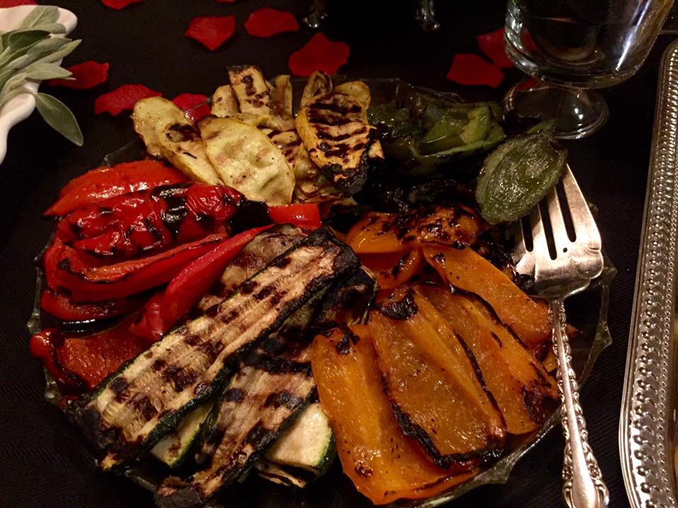 Grilled Veggies | The Rose Table
