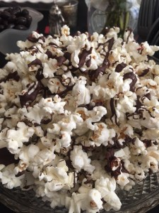 Dark Chocolate Popcorn with Sea Salt | The Rose Table