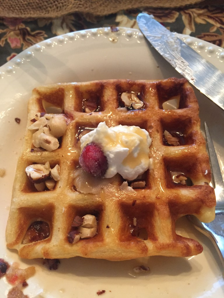 Cranberry Belgian Waffles | The Rose Table