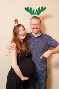 The Rose Table's Christmas Photo Booth