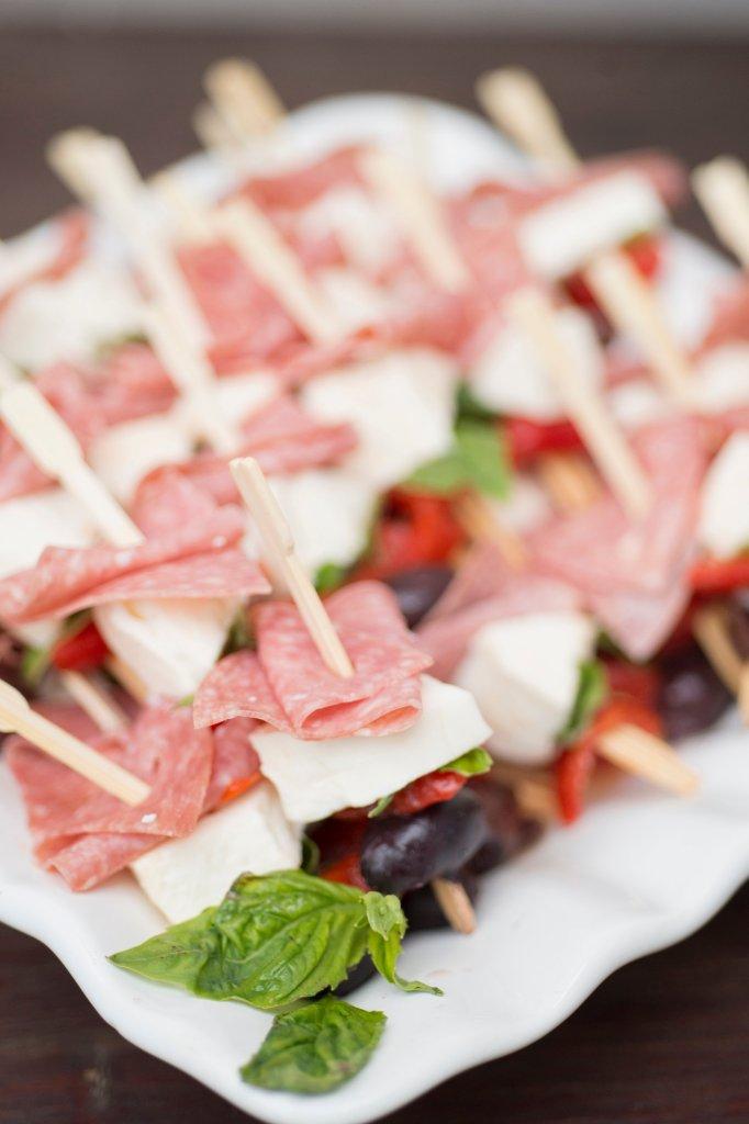 Antipasto Skewers | The Rose Table