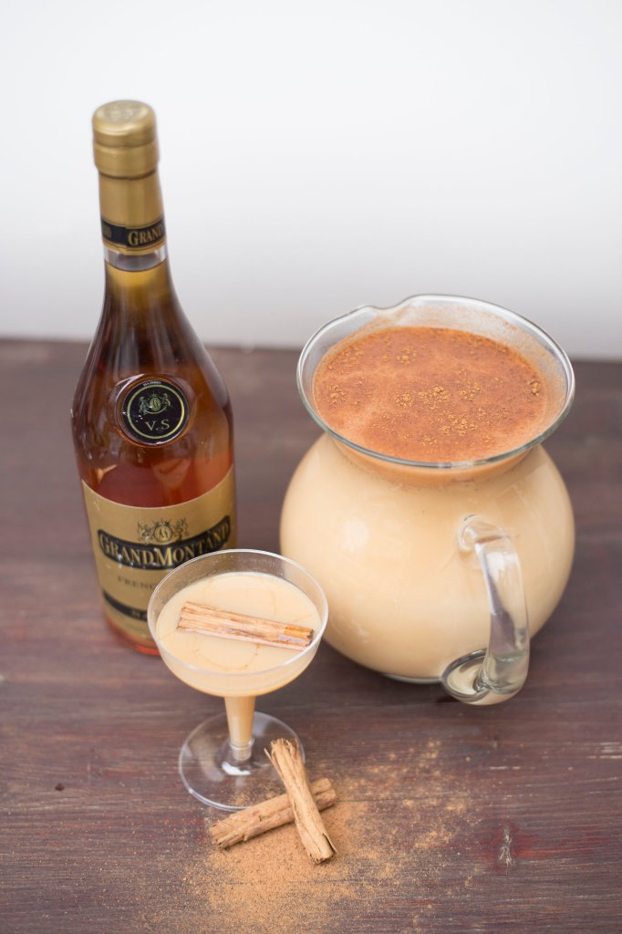 Boozy Eggnog | The Rose Table