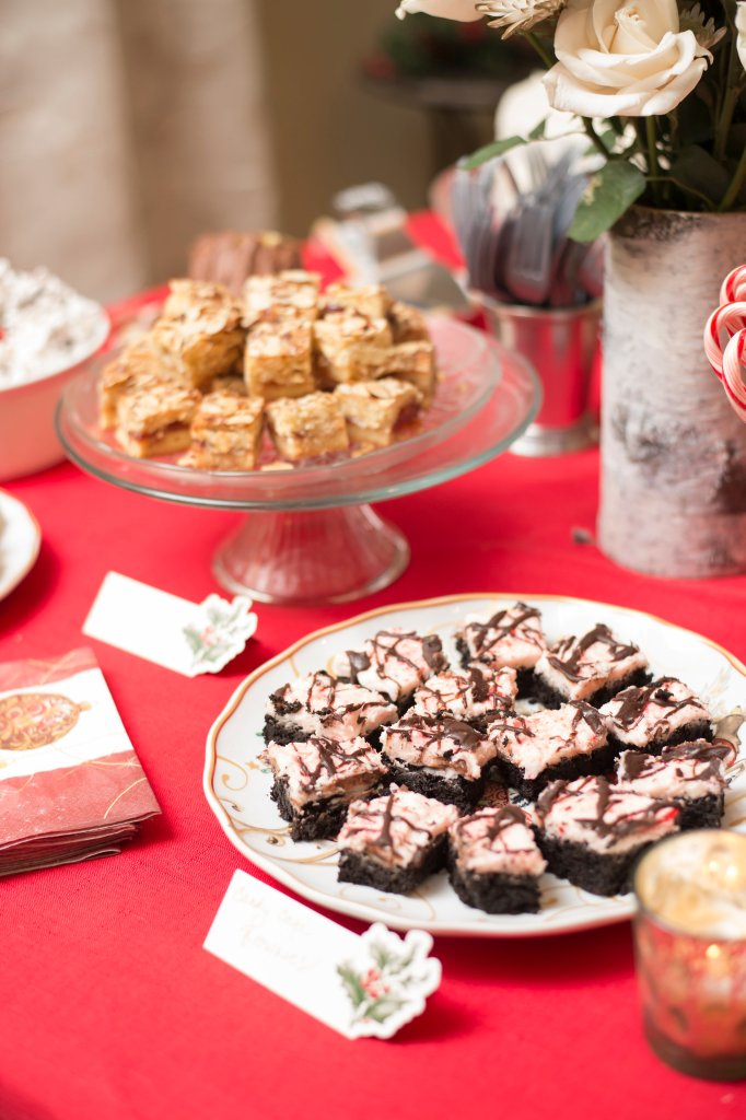 Candy Cane Brownies | The Rose Table