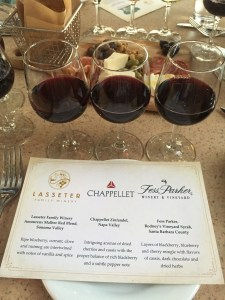Wine Tasting at Alfresco Tasting Terrace in Disney's California Adventure | The Rose Table