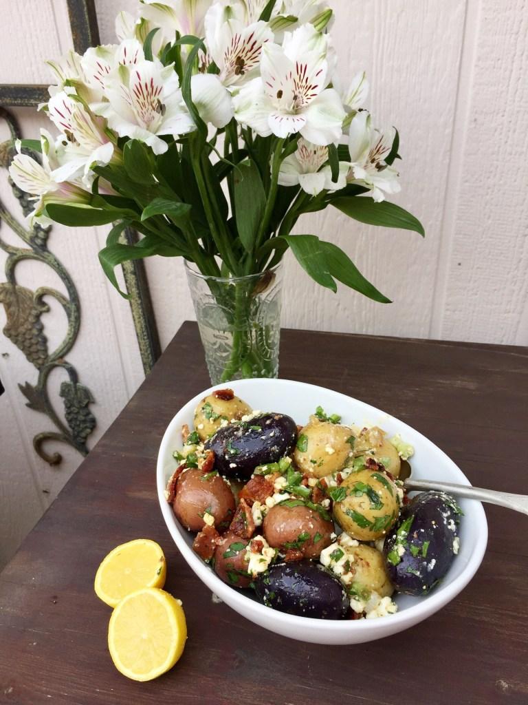 Bacon Potato Salad   The Rose Table
