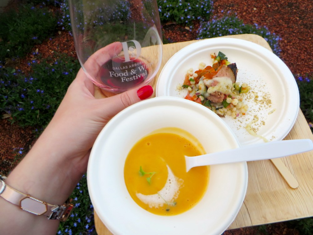 Dallas Arboretum Food and Wine Festival | the Rose Table