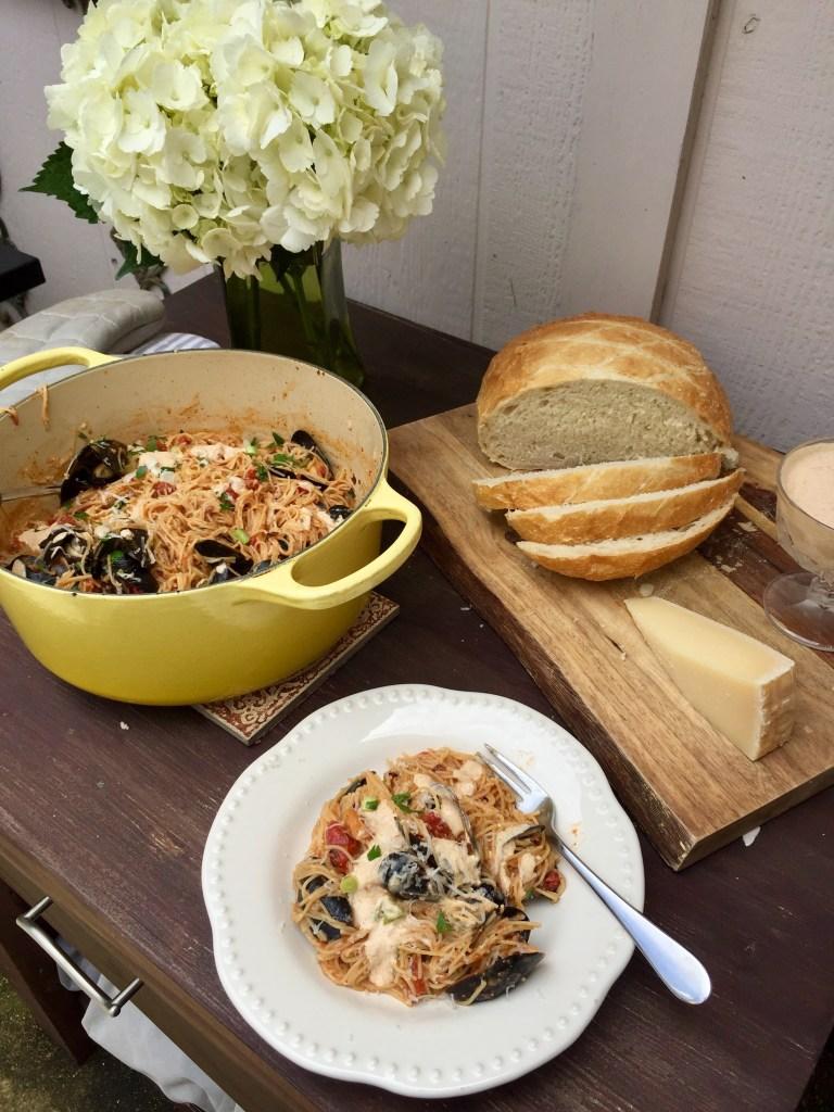 Fideos Recipe | The Rose Table