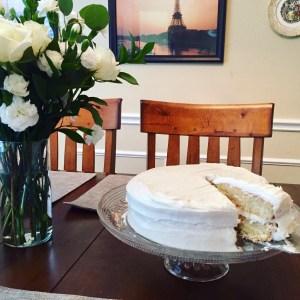 Diner en Blanc Cake   The Rose Table