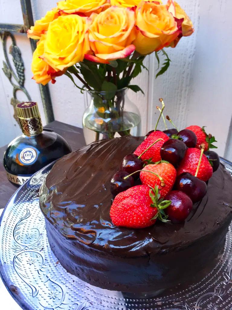 Chambord Chocolate Cake