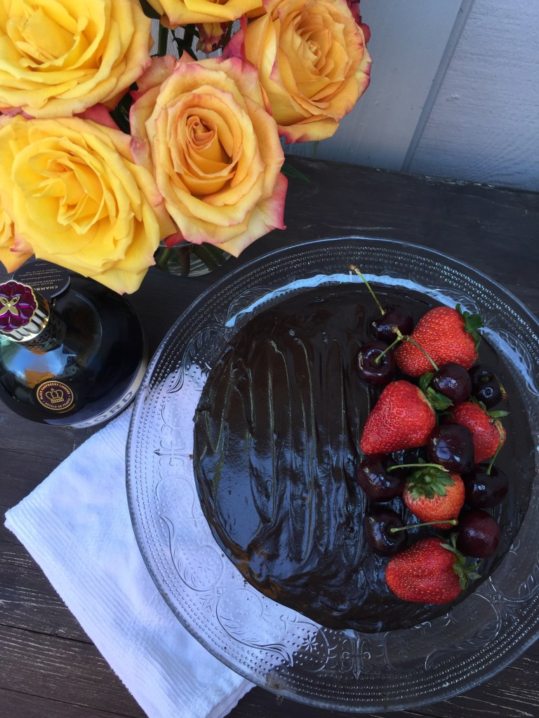 Chambord Chocolate Cake | The Rose Table
