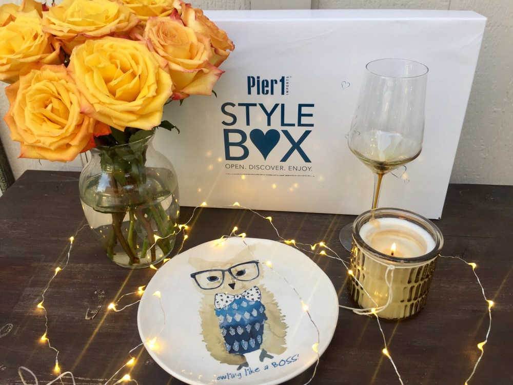 Pier 1 Style Box | The Rose Table