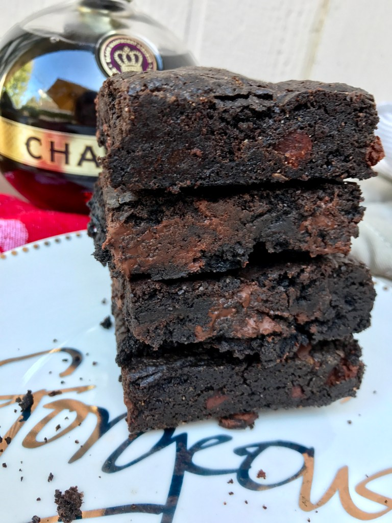 Chambord Brownies | The Rose Table