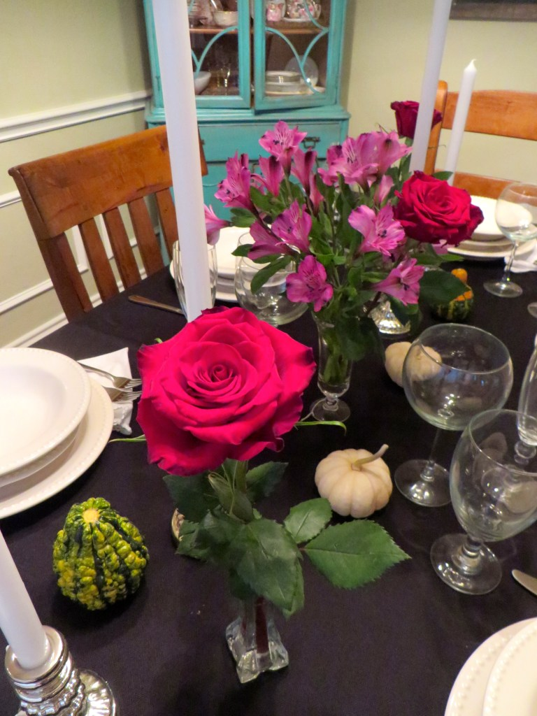 Dinner Noir, Adult Halloween Party Idea | The Rose Table
