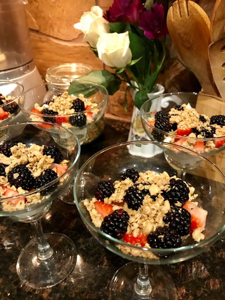 Maple Berry Yogurt Parfait | The Rose Table