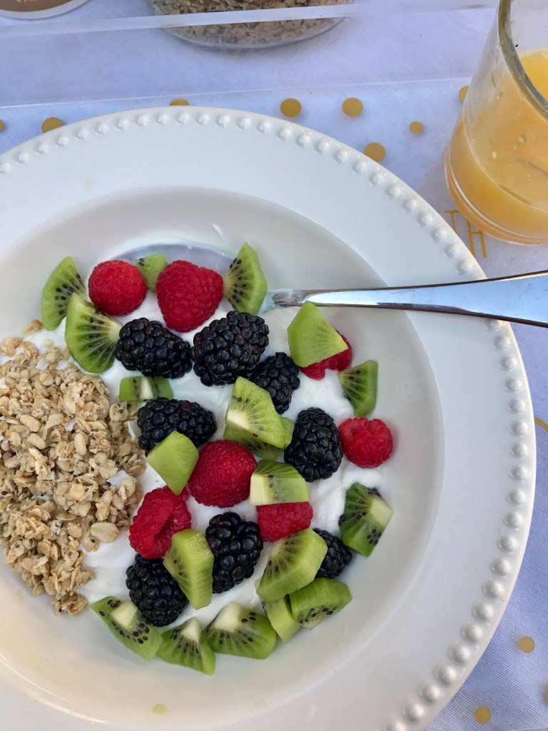 Fruit and Yogurt Bowl | The Rose Table