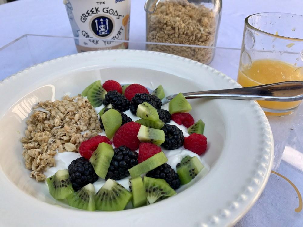 Fruit and Yogurt Bowl   The Rose Table