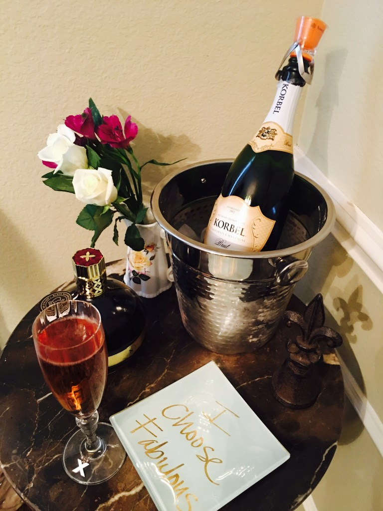 Champagne Bar | The Rose Table