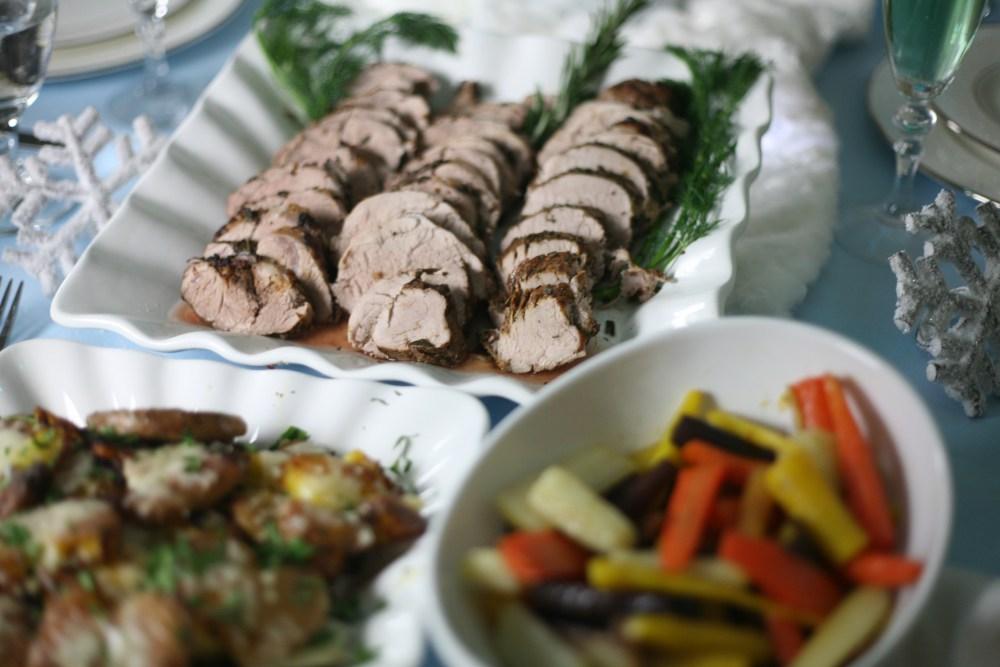 Best Pork Tenderloin Recipe   The Rose Table, Frozen recipes, adult Frozen dinner party