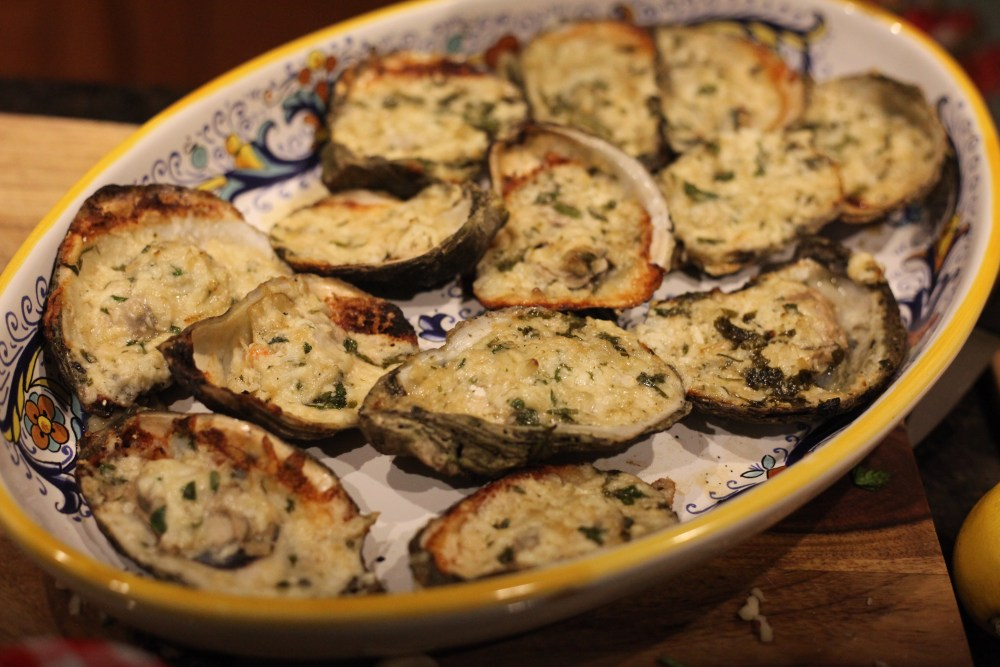 Chargrilled Oysters | The Rose Table