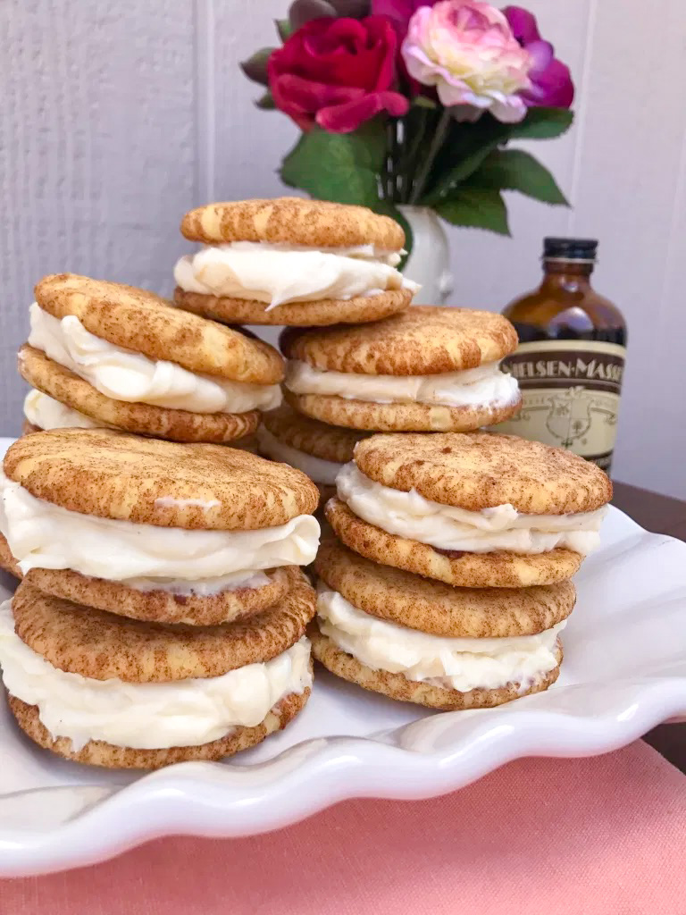 Snickerdoodle Sandwiches