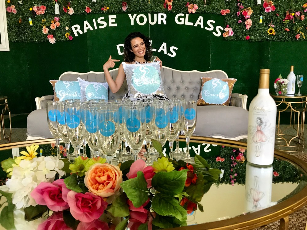 Raise Your Glass Dallas Review | The Rose Table