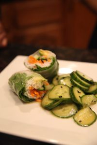 Asian Cucumber Salad   The Rose Table