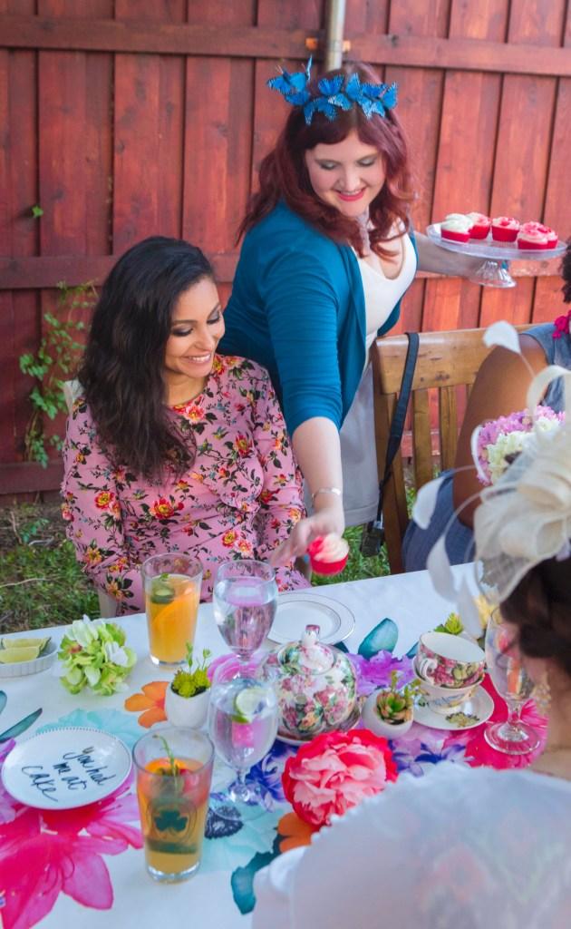 Alice in Wonderland Dessert Party Ideas