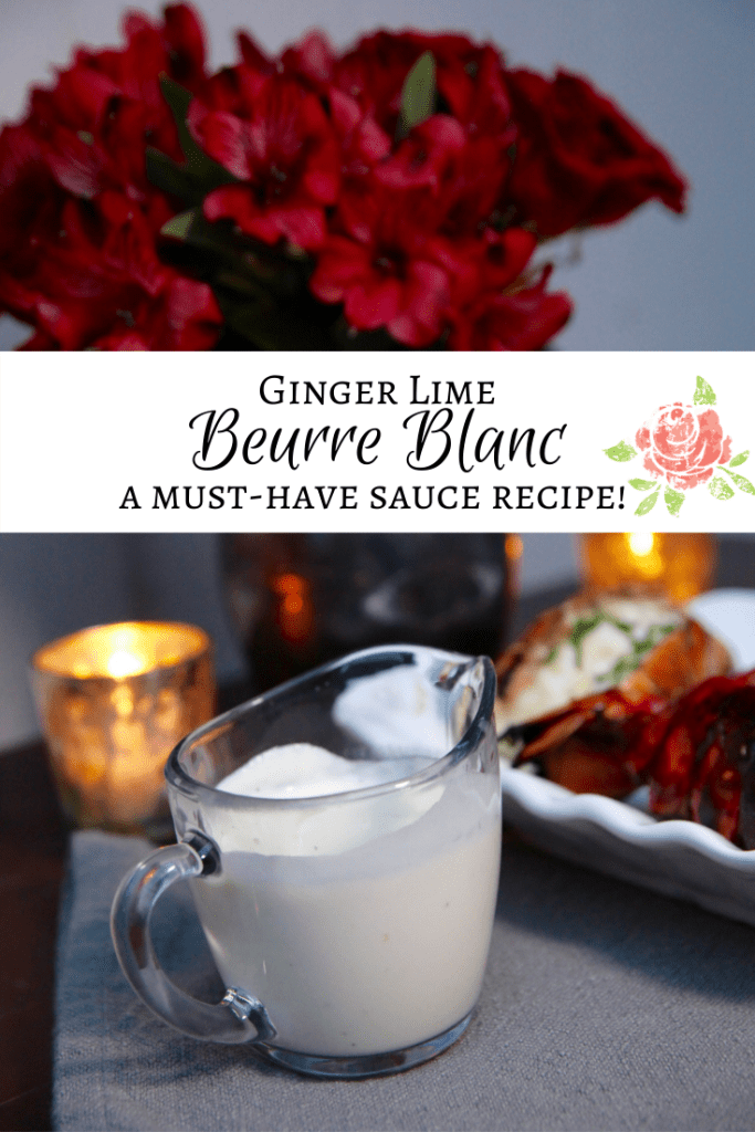Ginger Lime Beurre Blanc Recipe