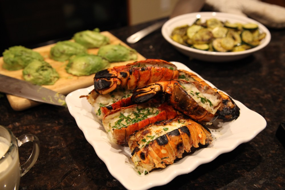Grilled Lobster Tails | The Rose Table
