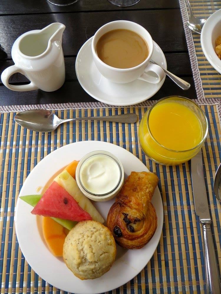 Coconut Muffins at Montpelier Plantation Nevis
