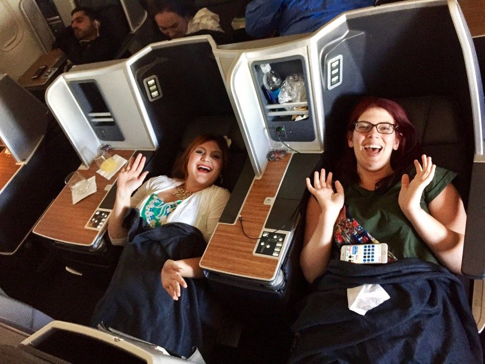 What it's like to fly first class on American Airlines | The Rose Table