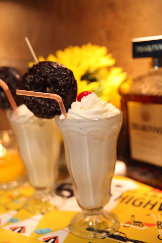 Amaretto Milkshakes | The Rose Table
