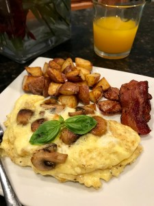 Mushroom Omelette | The Rose Table