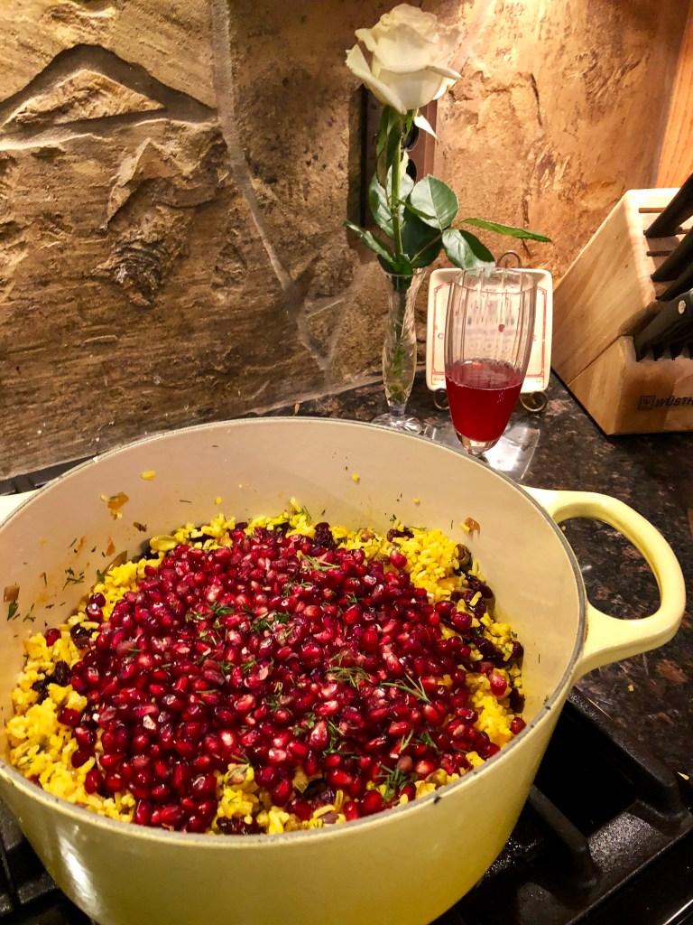 Jeweled Jasmine Rice | The Rose Table