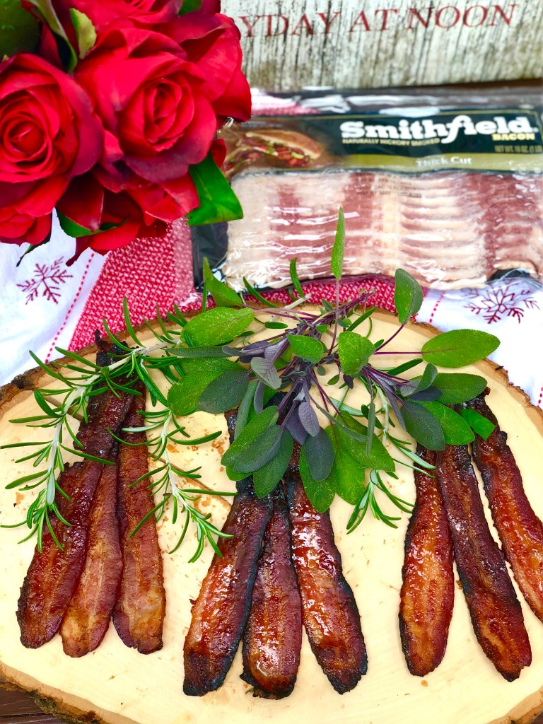 Bacon Flight Best Party Appetizers | The Rose Table