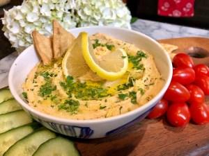 Lemon Garlic Hummus   The Rose Table