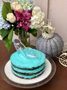 Cinderella Cake with Glass Slipper | The Rose Table