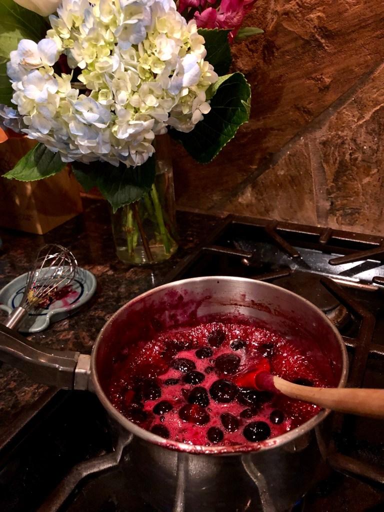 Blueberry Lemon Sauce | The Rose Table