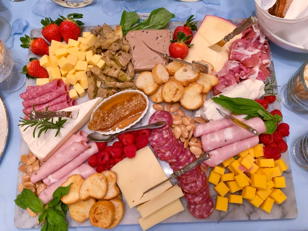 French Cheese Plate | The Rose Table