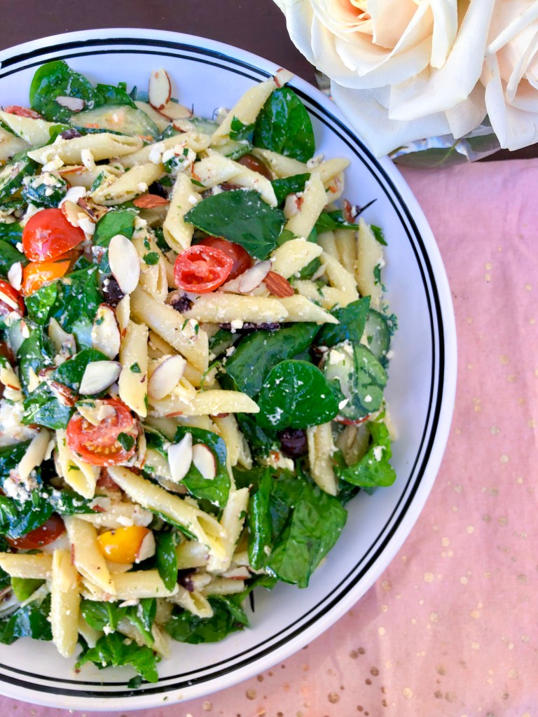 The Best Healthy Pasta Salad | the Rose Table