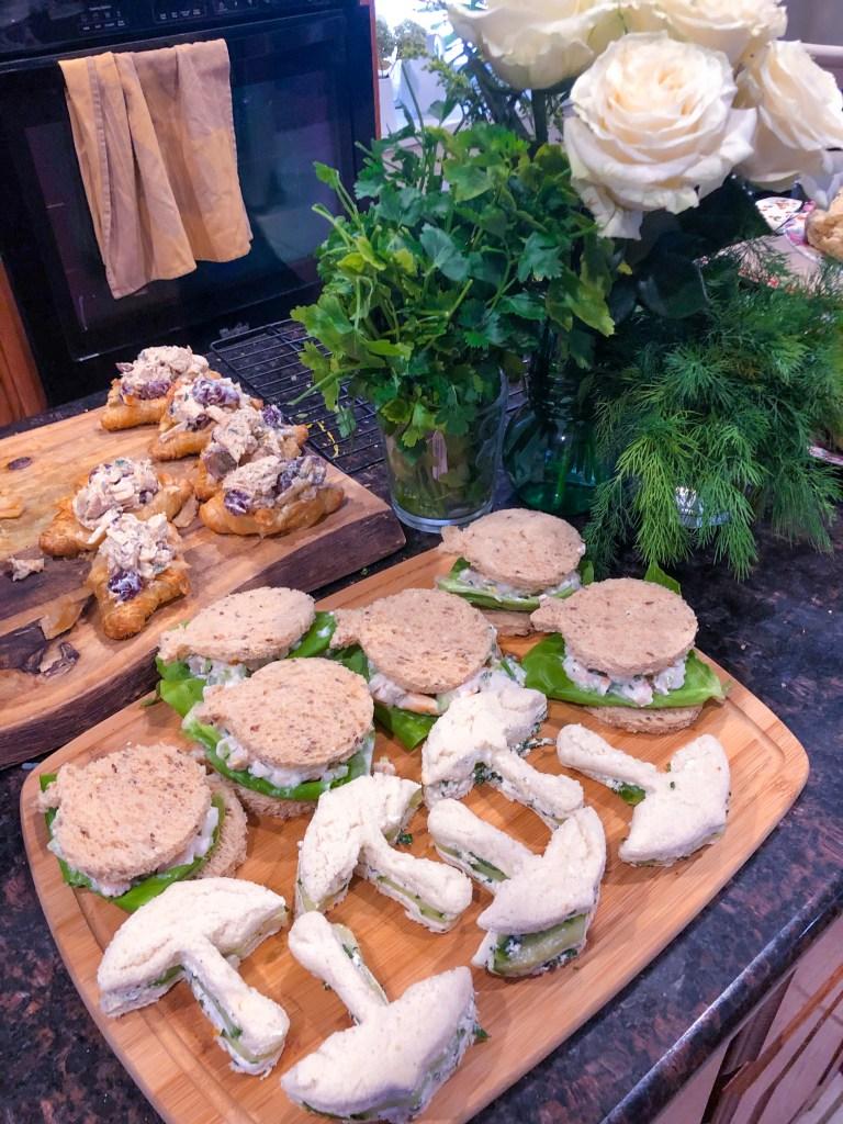 Tea Sandwich Flight, Best Tea Sandwich Recipes   The Rose Table