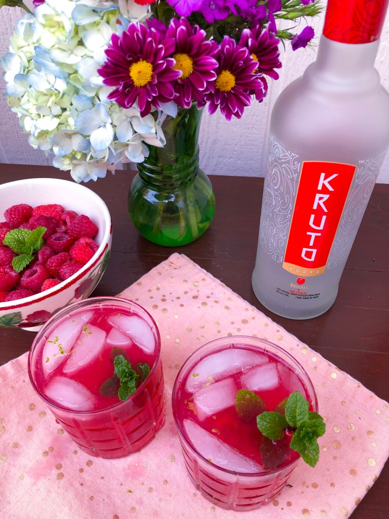 Dragon Fire, Kruto Vodka recipe, Game of Thrones Cocktail | The Rose Table