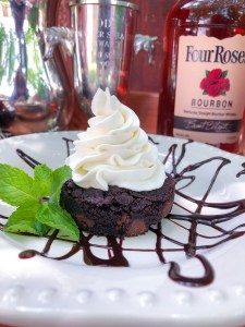 Mint Julep Brownies, Kentucky Derby Party Recipes   The Rose Table
